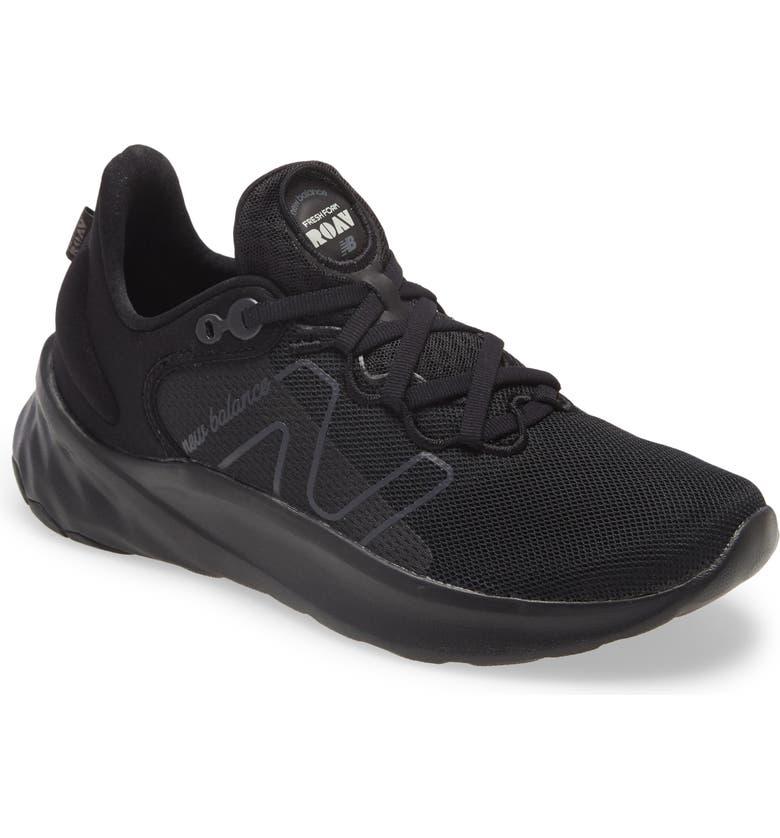 NEW BALANCE Fresh Foam Roav Knit Sneaker, Main, color, BLACK MULTI