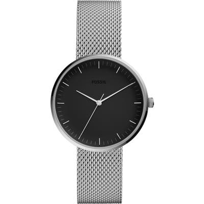 Fossil Essentialist Mesh Bracelet Watch,