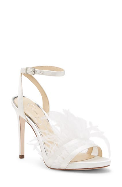 Image of Jessica Simpson Raelin Feather Ankle Strap Sandal