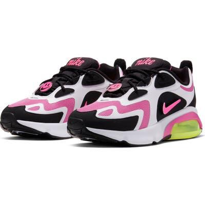 Nike Air Max 200 Sneaker- Black