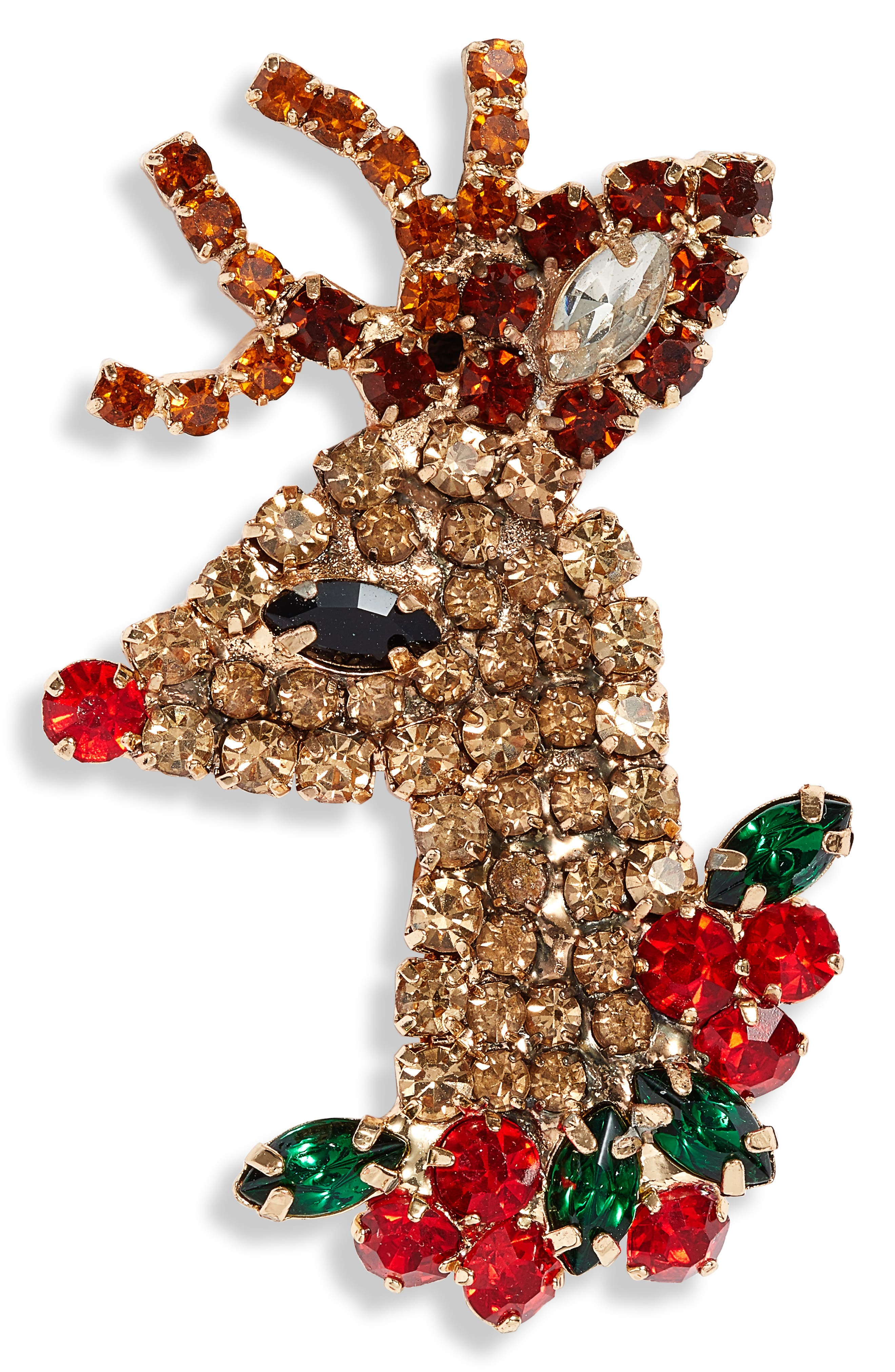 Crystal Rudolph Pin