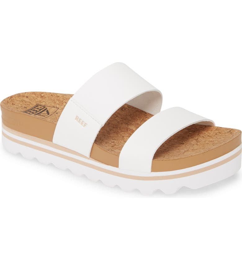 REEF Cushion Bounce Vista Hi Slide Sandal, Main, color, 100