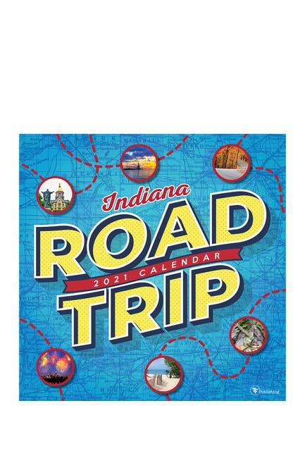 Image of TF Publishing 2021 Road Trip: Indiana Wall Calendar