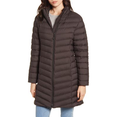 Patagonia Silent 700 Fill Power Down Hooded Jacket, Black