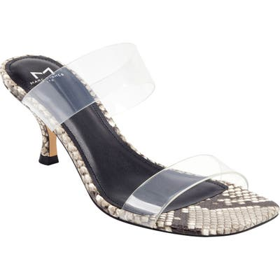 Marc Fisher Ltd Guadia Sandal- Grey