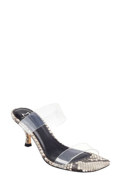 Image of Marc Fisher LTD Guadia Kitten Heel Slide Sandal