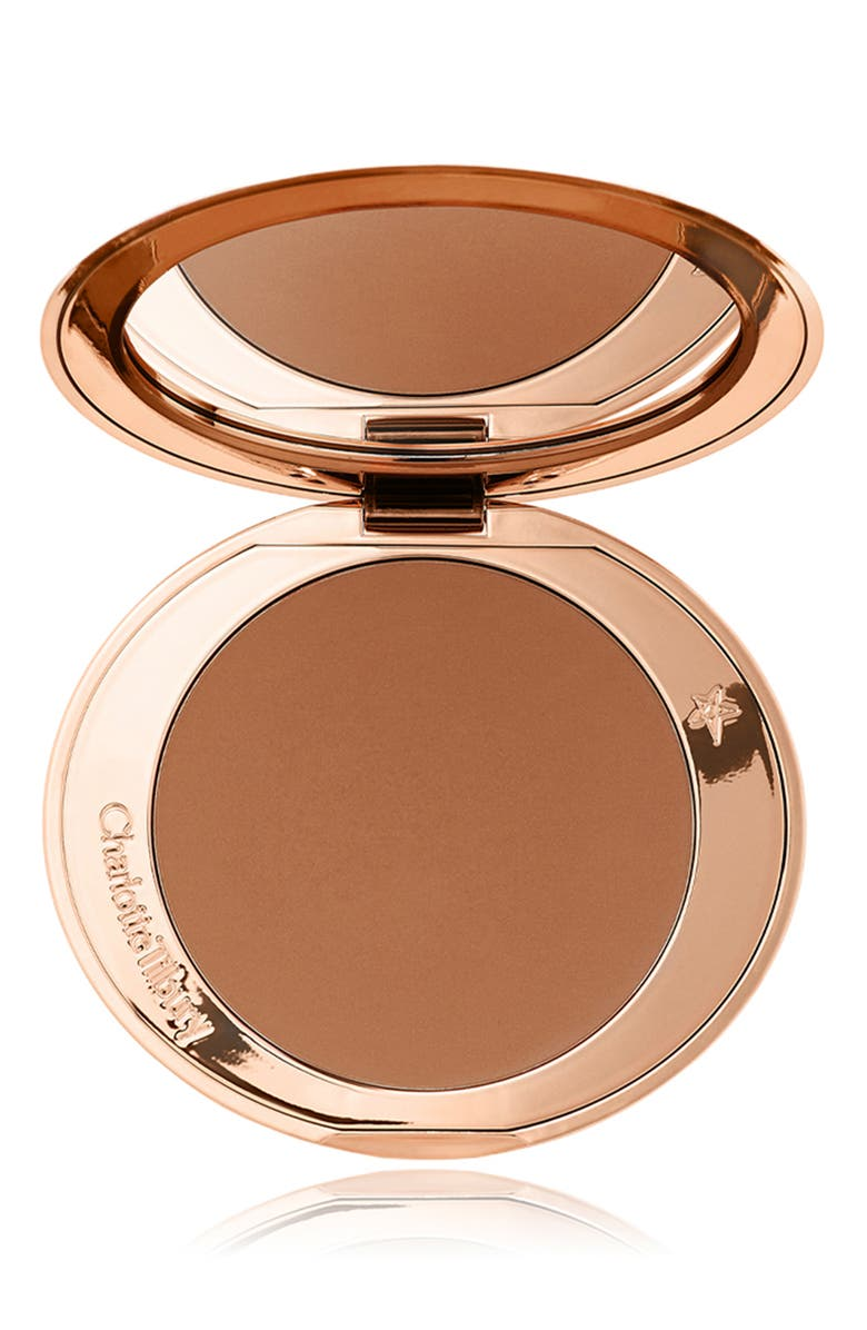 CHARLOTTE TILBURY Airbrush Flawless Finish Bronzing Powder, Main, color, 3 TAN