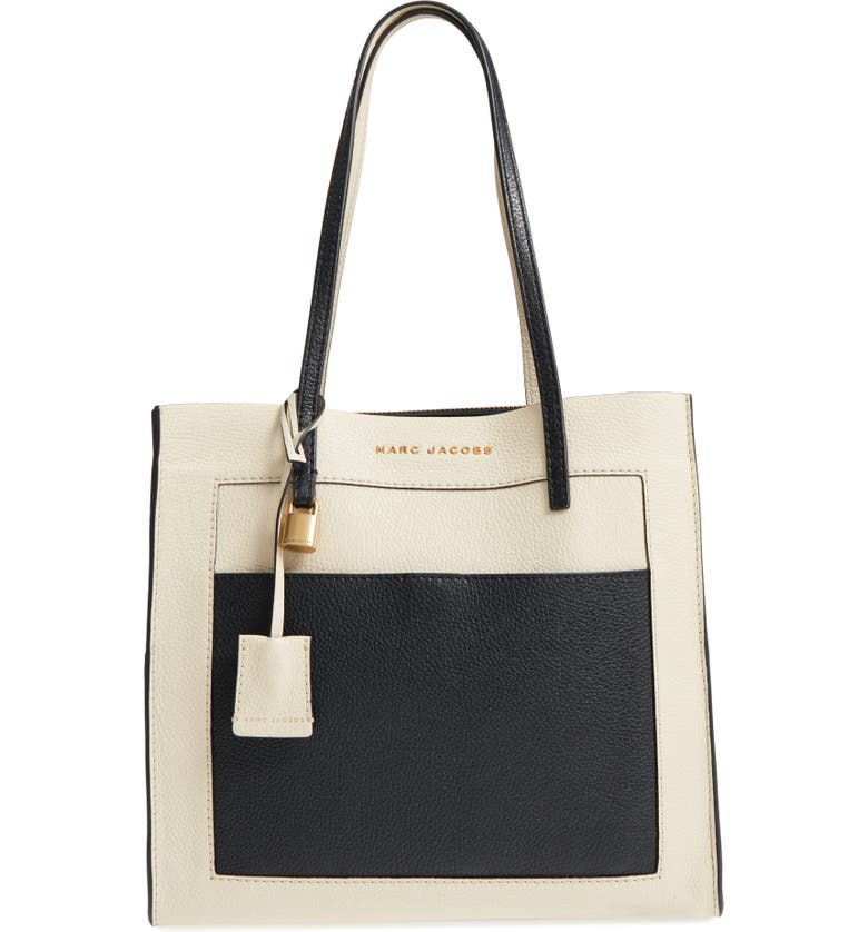 3fd239ad9d7 MARC JACOBS The Grind Color Block Leather Tote   Nordstrom