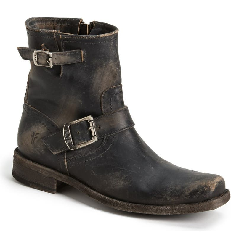 FRYE 'Smith Engineer' Bootie, Main, color, 001