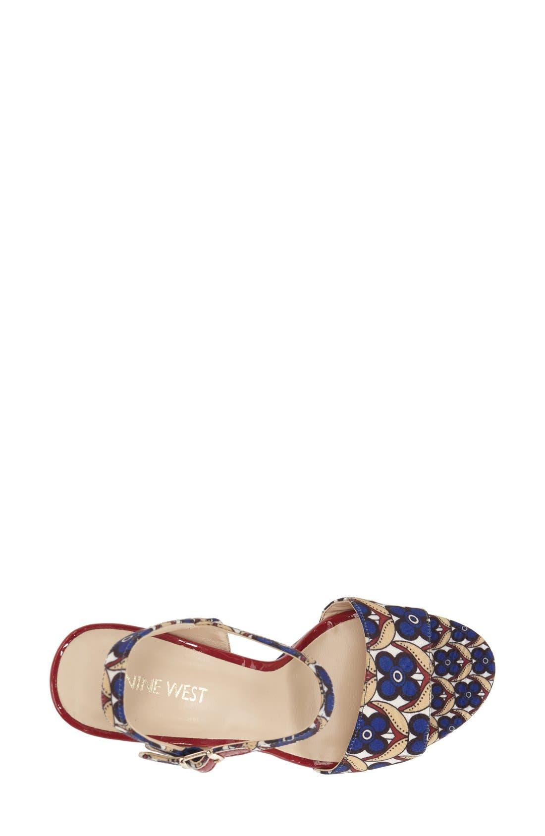 ,                             'Carnation' Platform Sandal,                             Alternate thumbnail 21, color,                             400