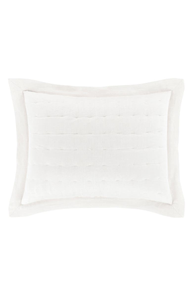 PINE CONE HILL Brussels Quilted Sham, Main, color, 100