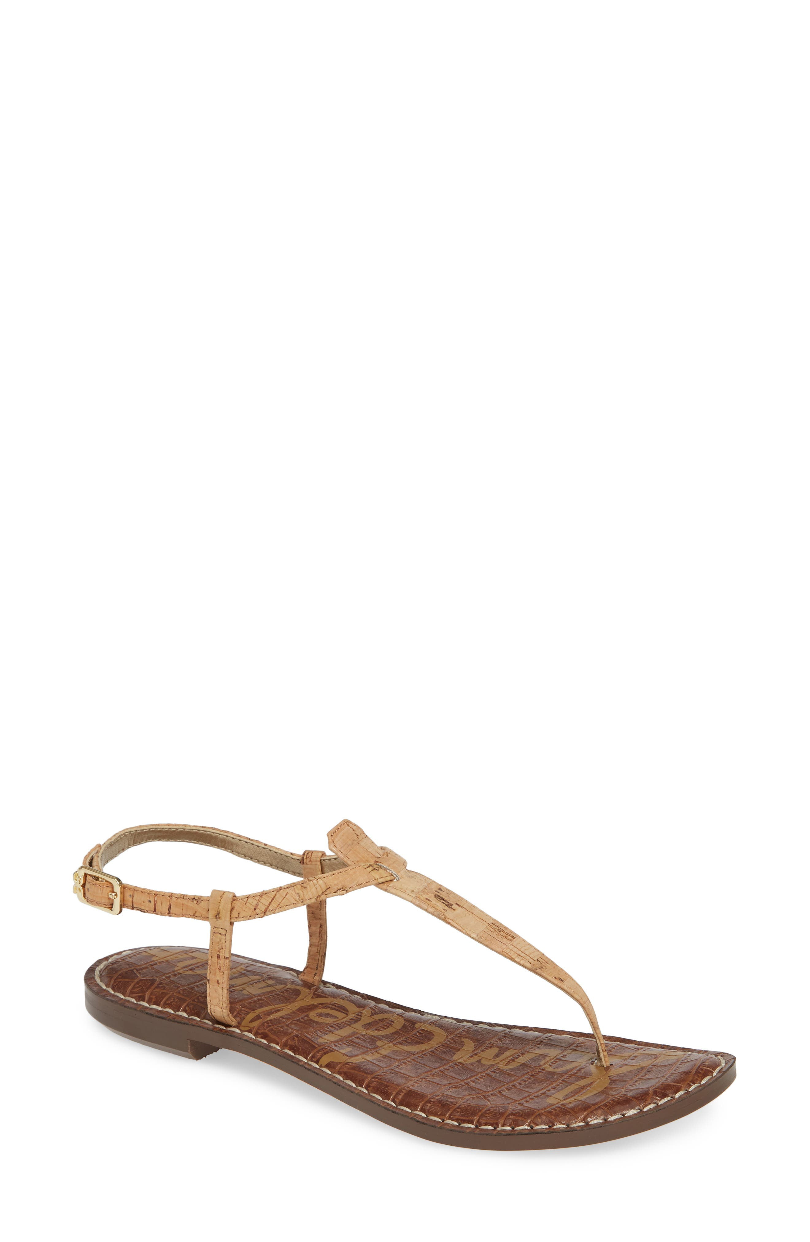 ,                             Gigi Sandal,                             Alternate thumbnail 2, color,                             NATURAL CORK