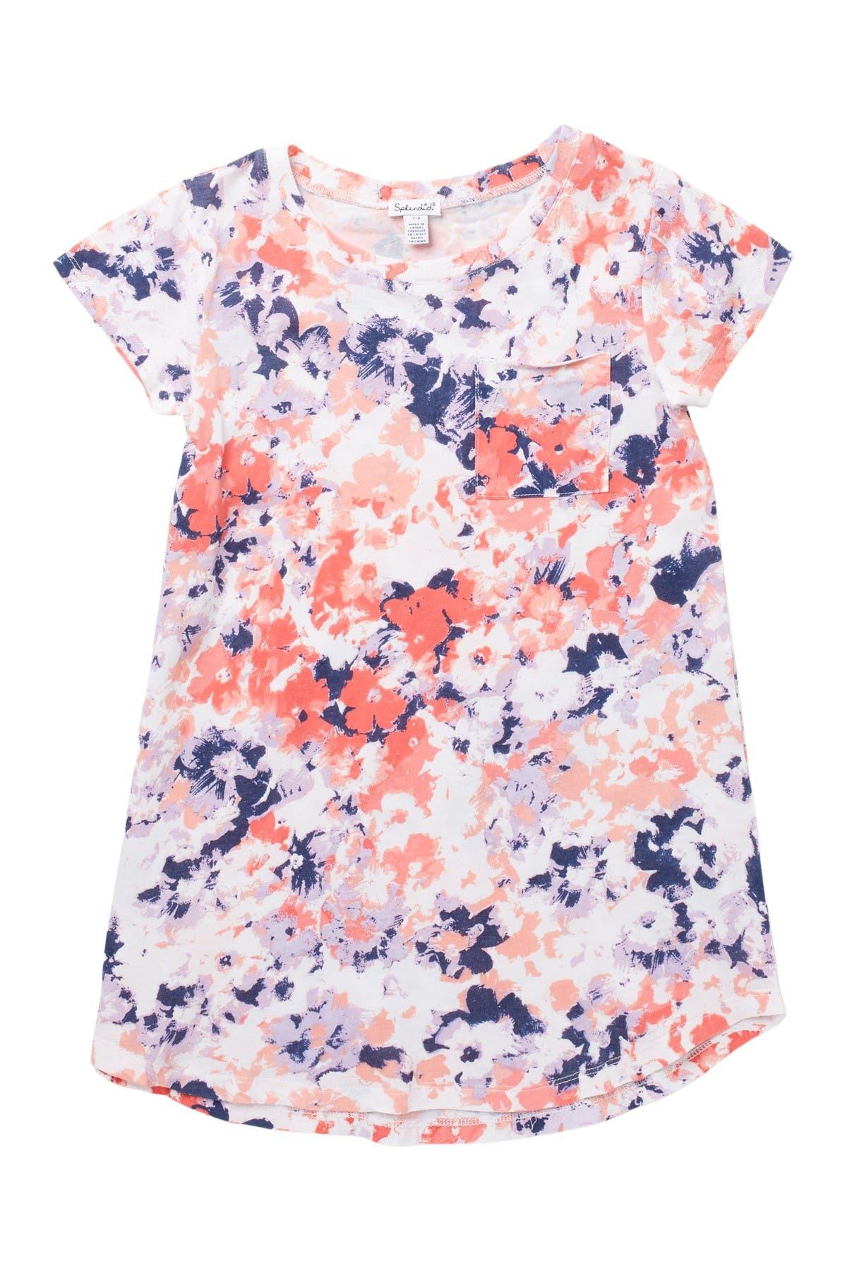 Image of Splendid Floral Print Dress