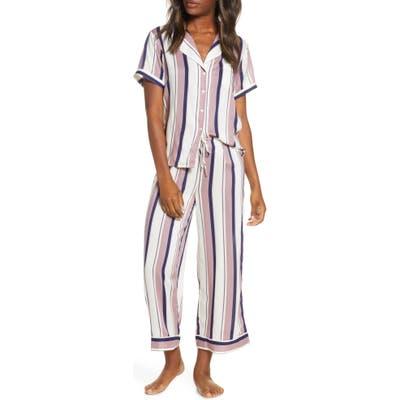 Nordstrom Lingerie Sweet Dreams Crop Pajamas, Ivory