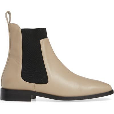 Everlane The Square Toe Chelsea Boot, Beige