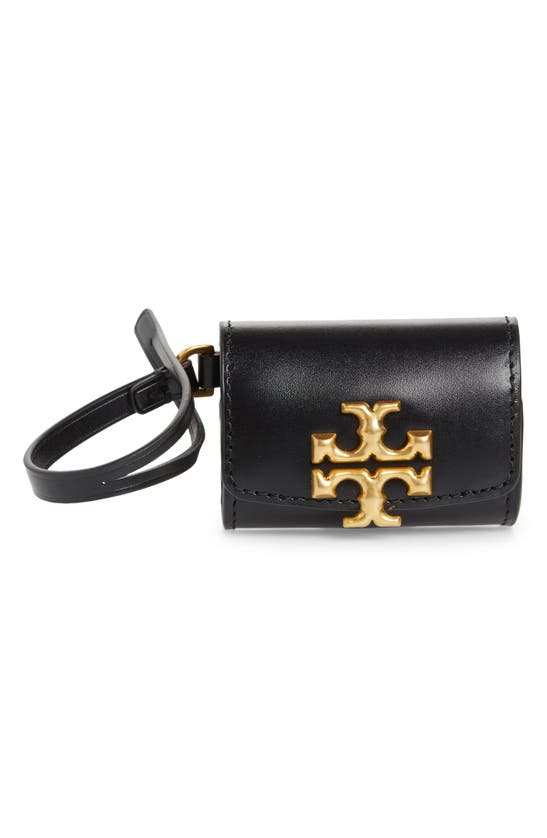 Tory Burch Accessories ELEANOR LEATHER AIRPOD CASE