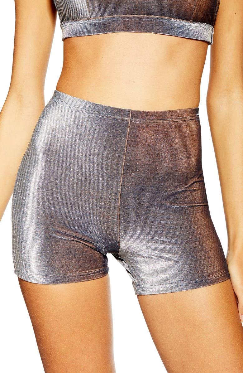 Velour Bikini Cycling Shorts by Topshop