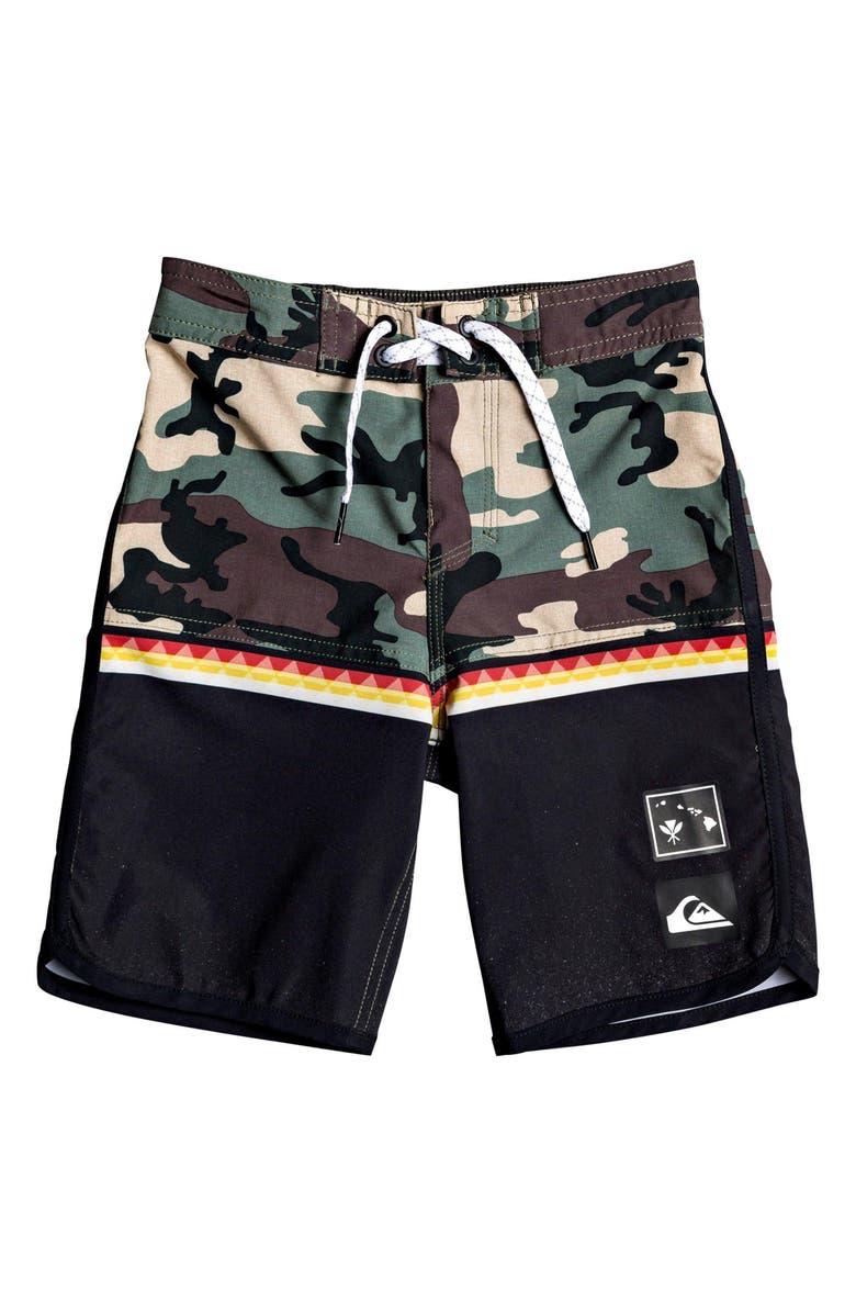QUIKSILVER Highline Divide Board Shorts, Main, color, 002