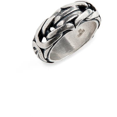 John Varvatos Chain Ring