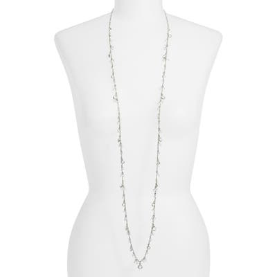 Cristabelle Shig Shag Crystal Charm Necklace