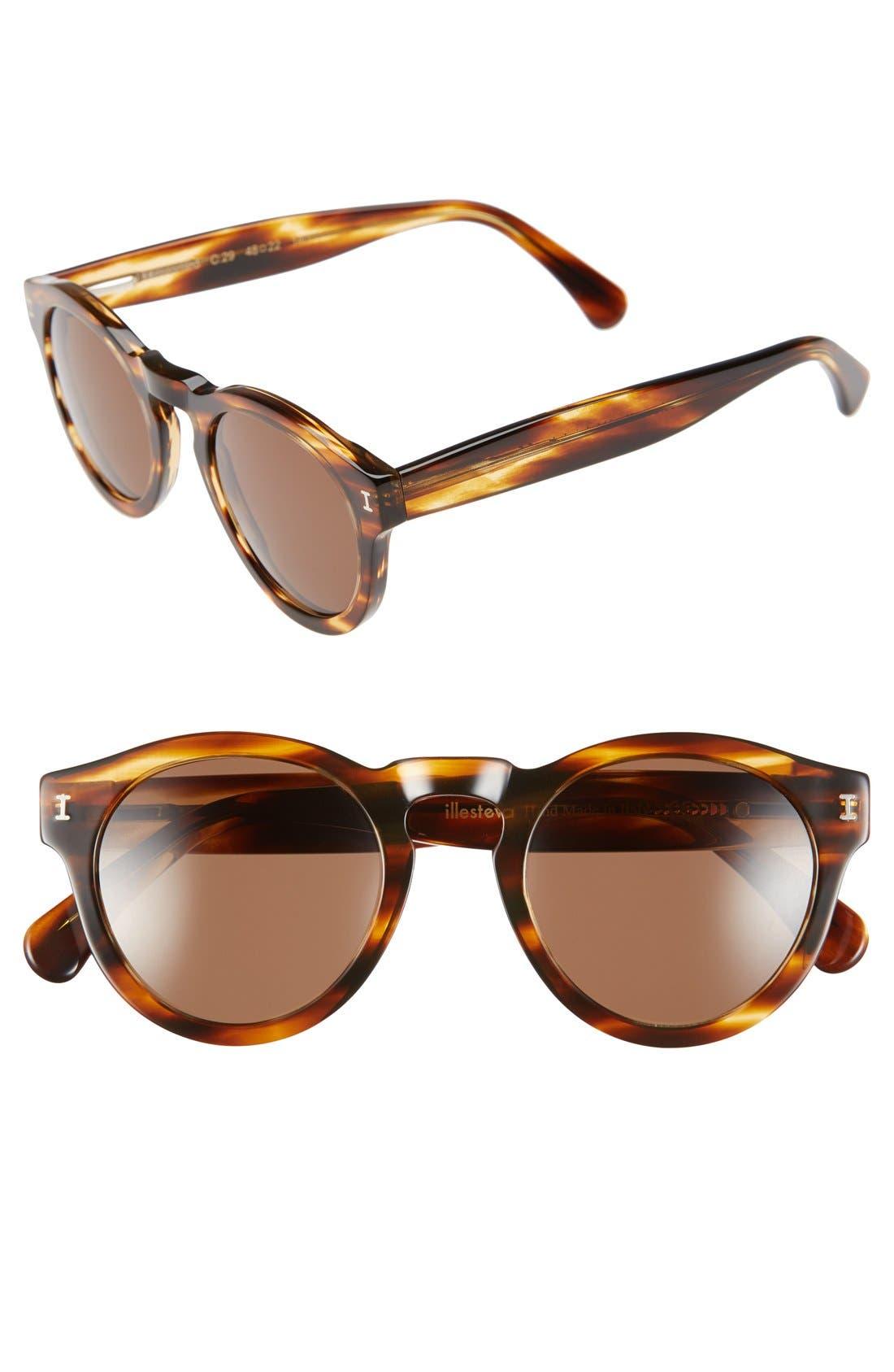 ,                             'Leonard' 47mm Sunglasses,                             Main thumbnail 110, color,                             238