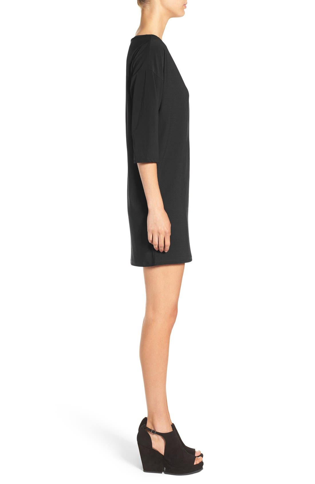 ,                             Dolman Dress,                             Alternate thumbnail 2, color,                             001