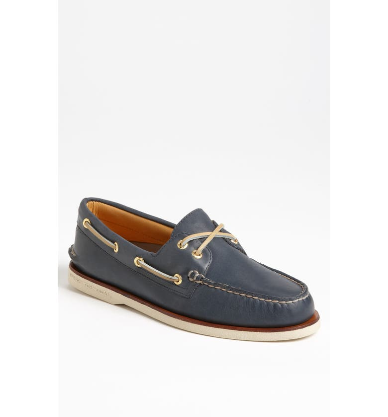SPERRY 'Gold Cup - Authentic Original' Boat Shoe, Main, color, NAVY