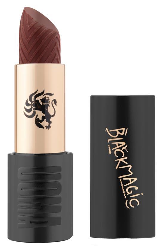 Uoma Beauty Lips BLACK MAGIC 'COMING 2 AMERICA' HYPNOTIC IMPACT HIGH SHINE LIPSTICK