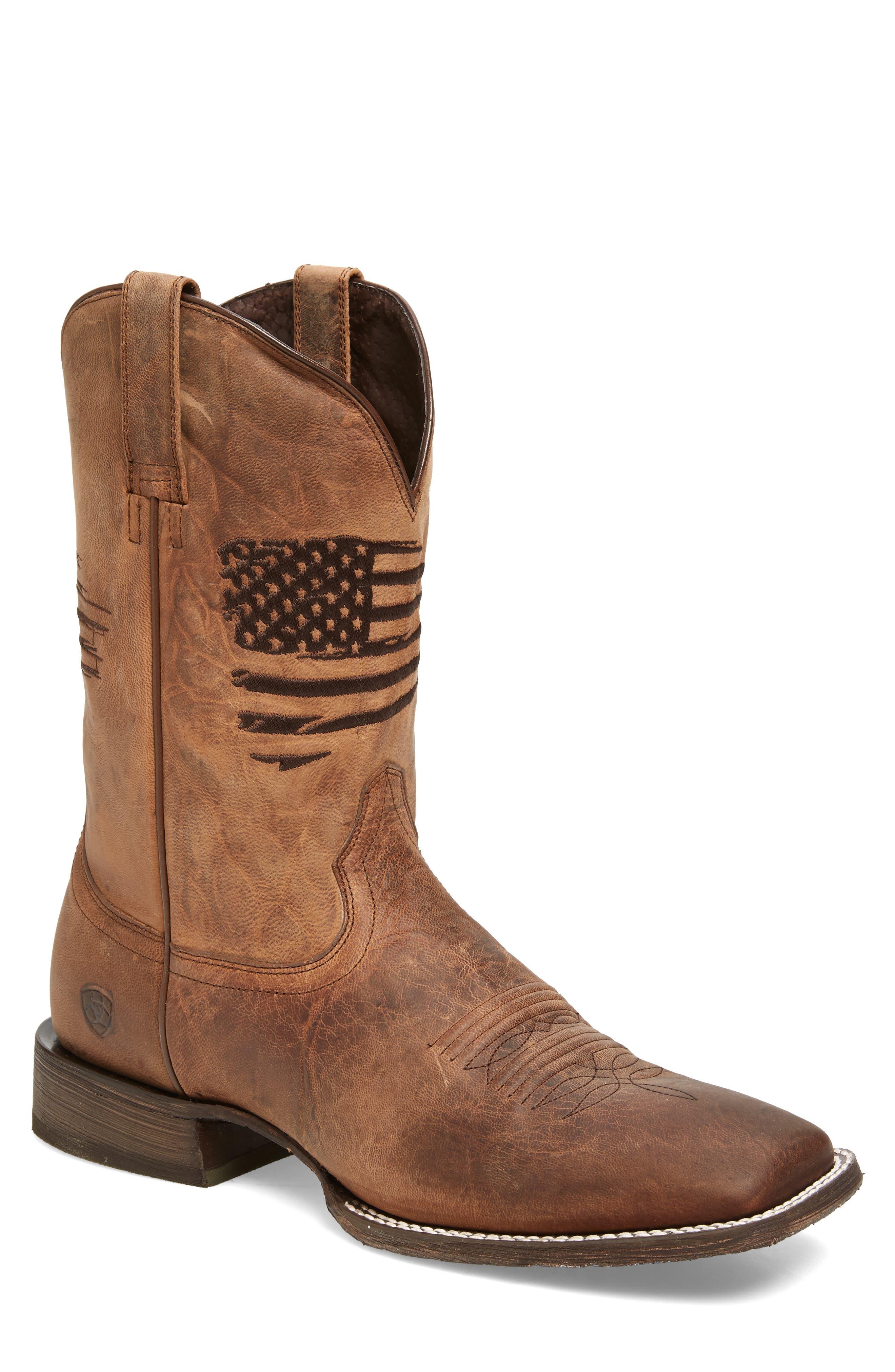 Circuit Patriot Cowboy Boot