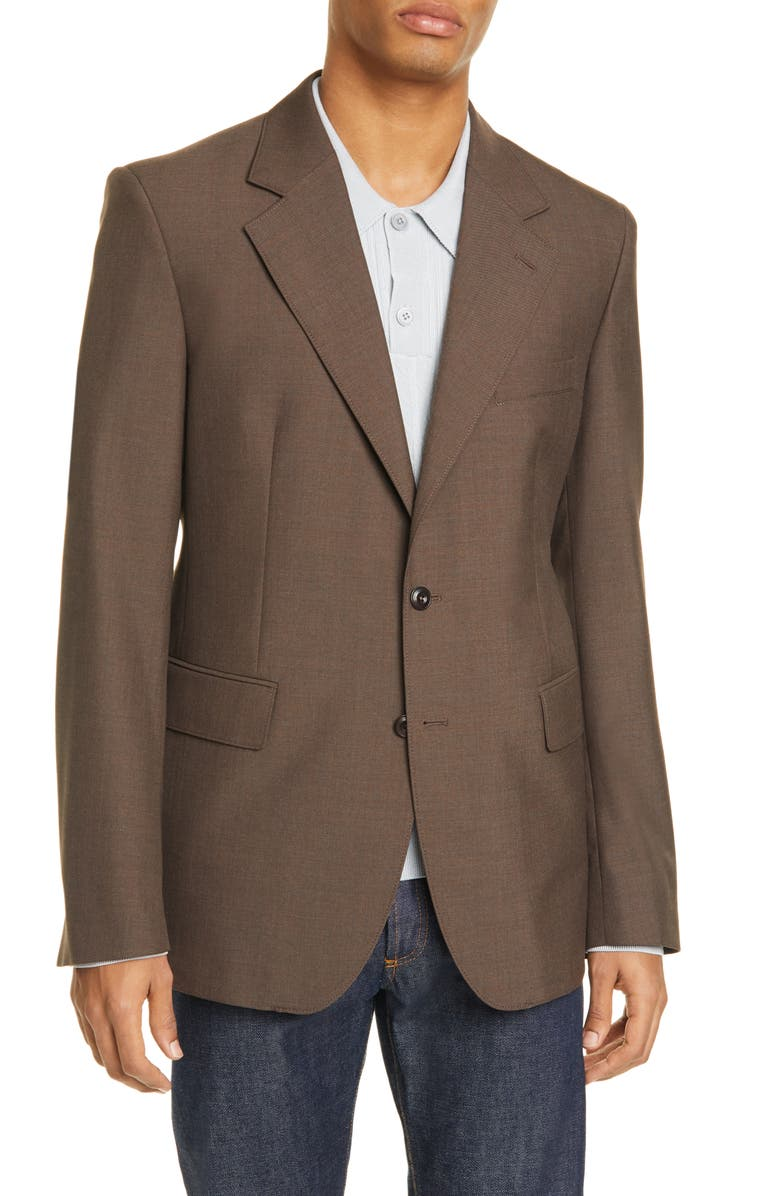 LEMAIRE Single Breasted Blazer, Main, color, 200