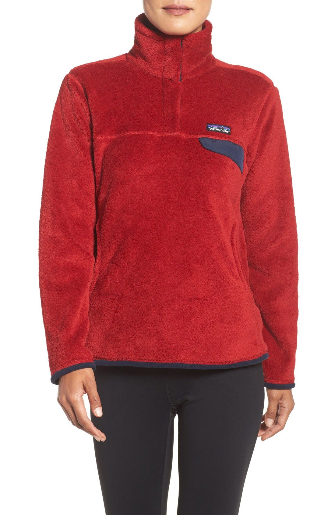,                             Re-Tool Snap-T<sup>®</sup> Fleece Pullover,                             Main thumbnail 179, color,                             606