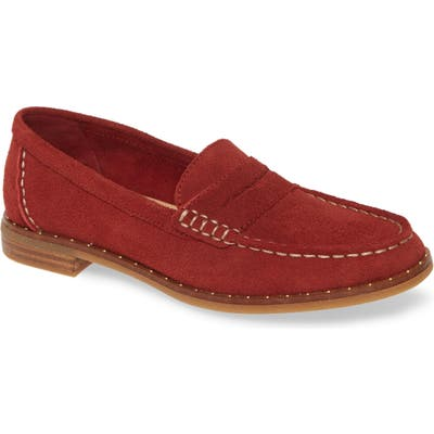 Sperry Seaport Penny Loafer, Burgundy