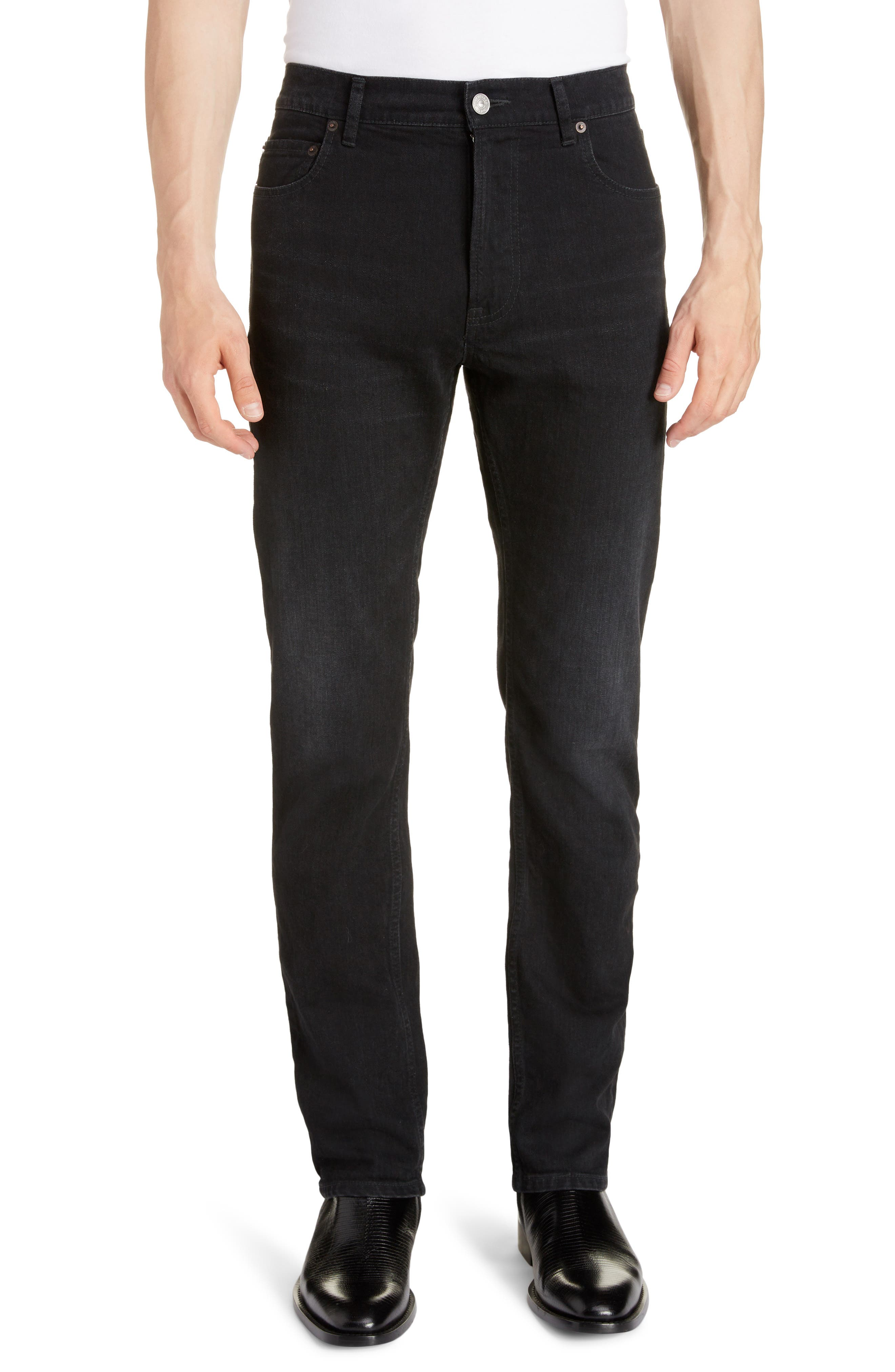 Men's Balenciaga Skinny Jeans,  31 - Black