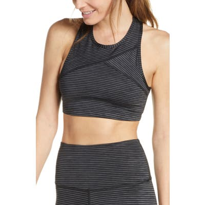 Beyond Yoga Out Of Line Racerback Sports Bra