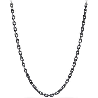 David Yurman Narrow Chain Link Necklace