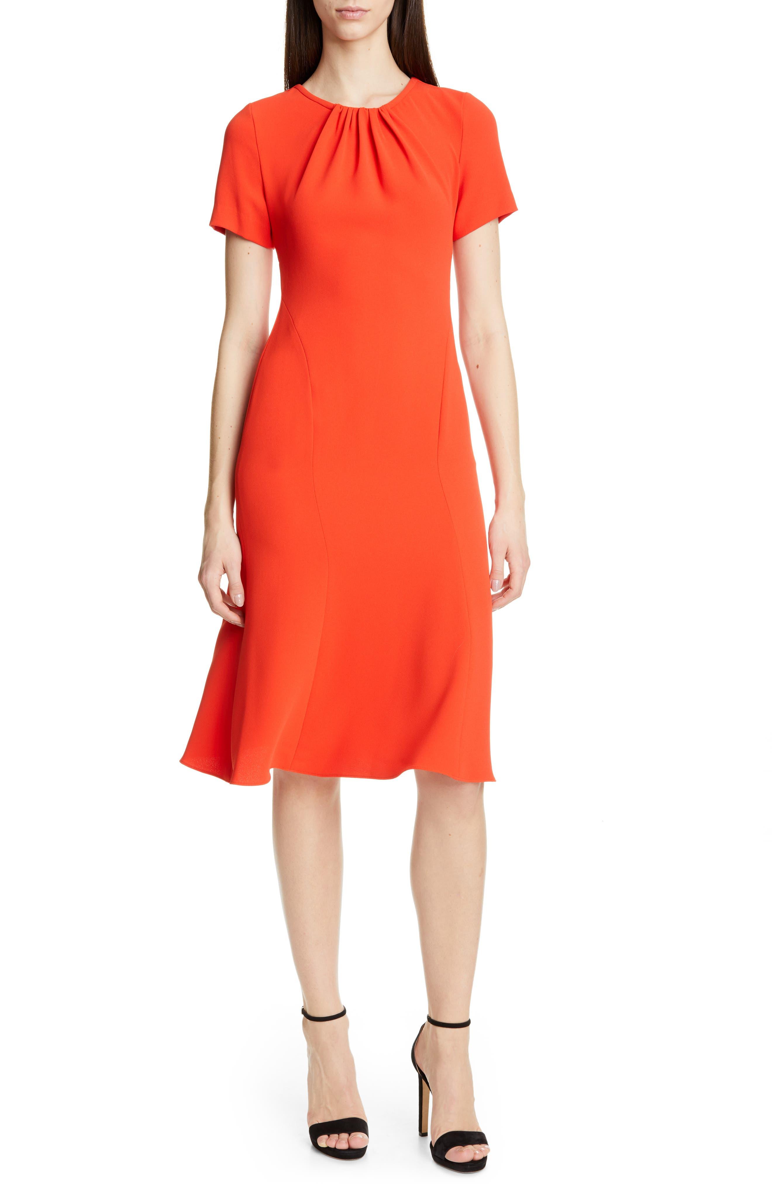 Dvf Rose Dress, Red