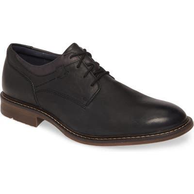 Josef Seibel Earl Plain Toe Derby, Black