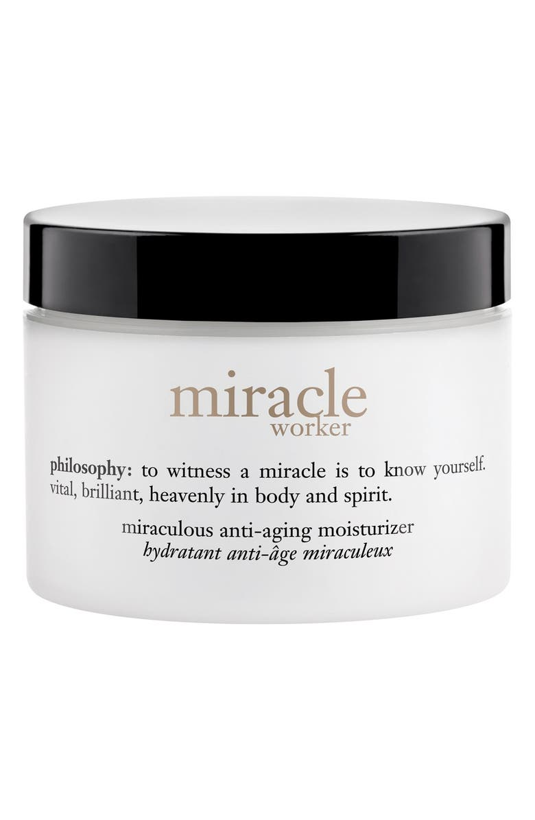PHILOSOPHY miracle worker miraculous anti-wrinkle moisturizer, Main, color, NO COLOR