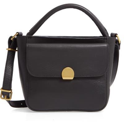 Madewell The Mini Abroad Leather Crossbody Bag - Black