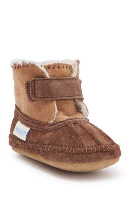 Image of Robeez Galway Faux Fur Lined Cozy Bootie