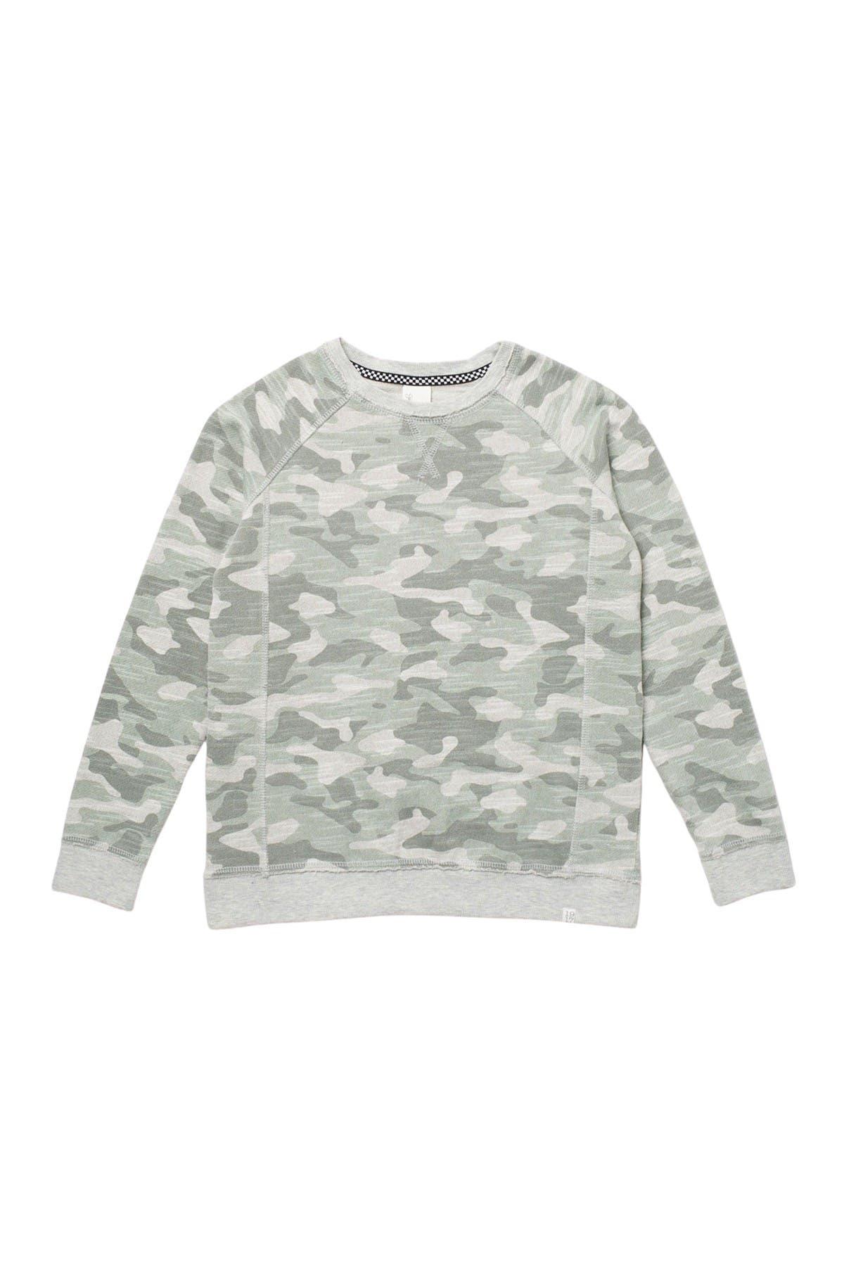 Image of Sovereign Code Kinsley Camo Crew Sweatshirt