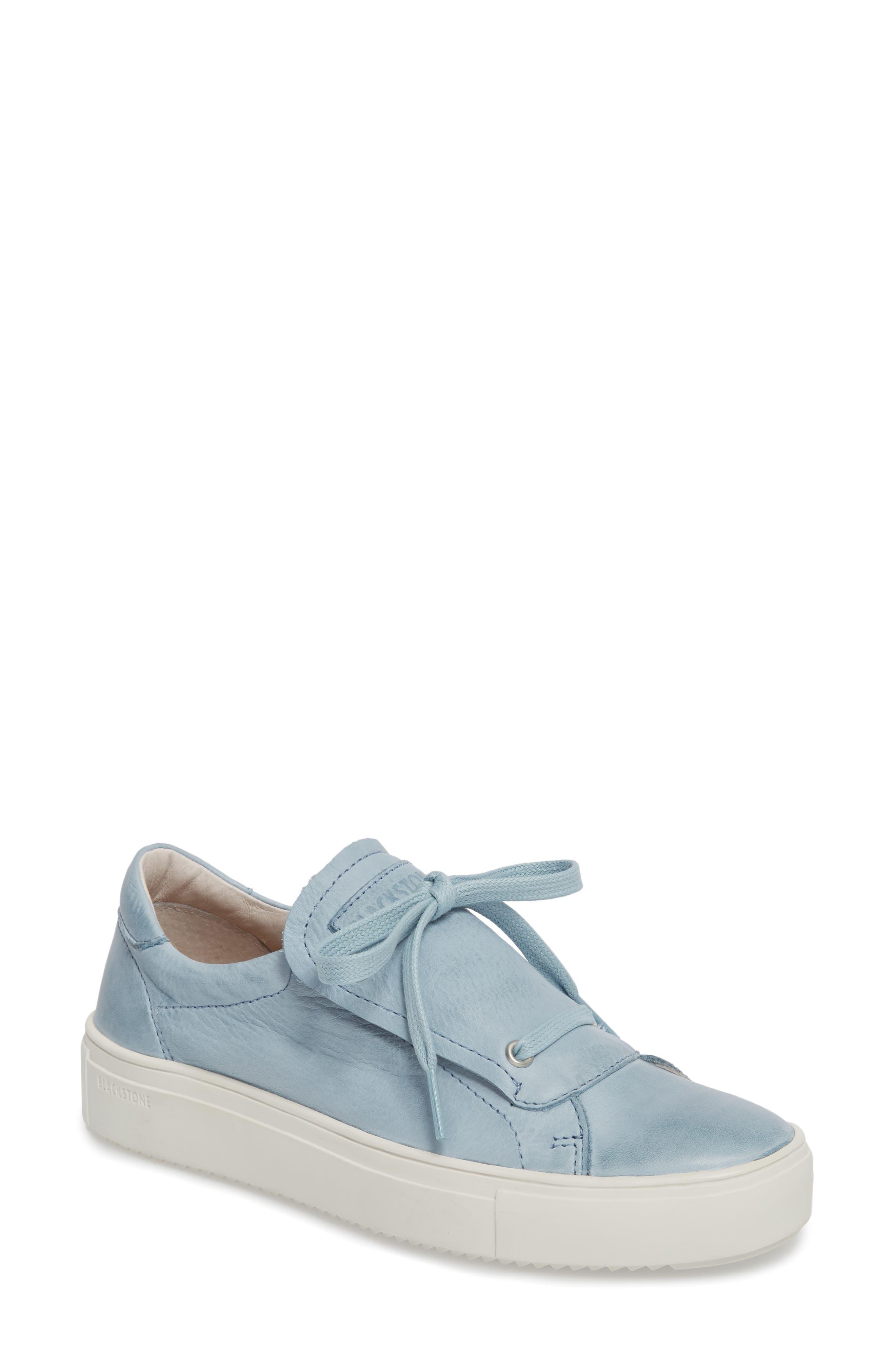 Blackstone Pl72 External Tongue Sneaker Blue