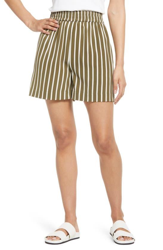 Lyssé Shorts MILEY STRIPE PULL-ON SHORTS