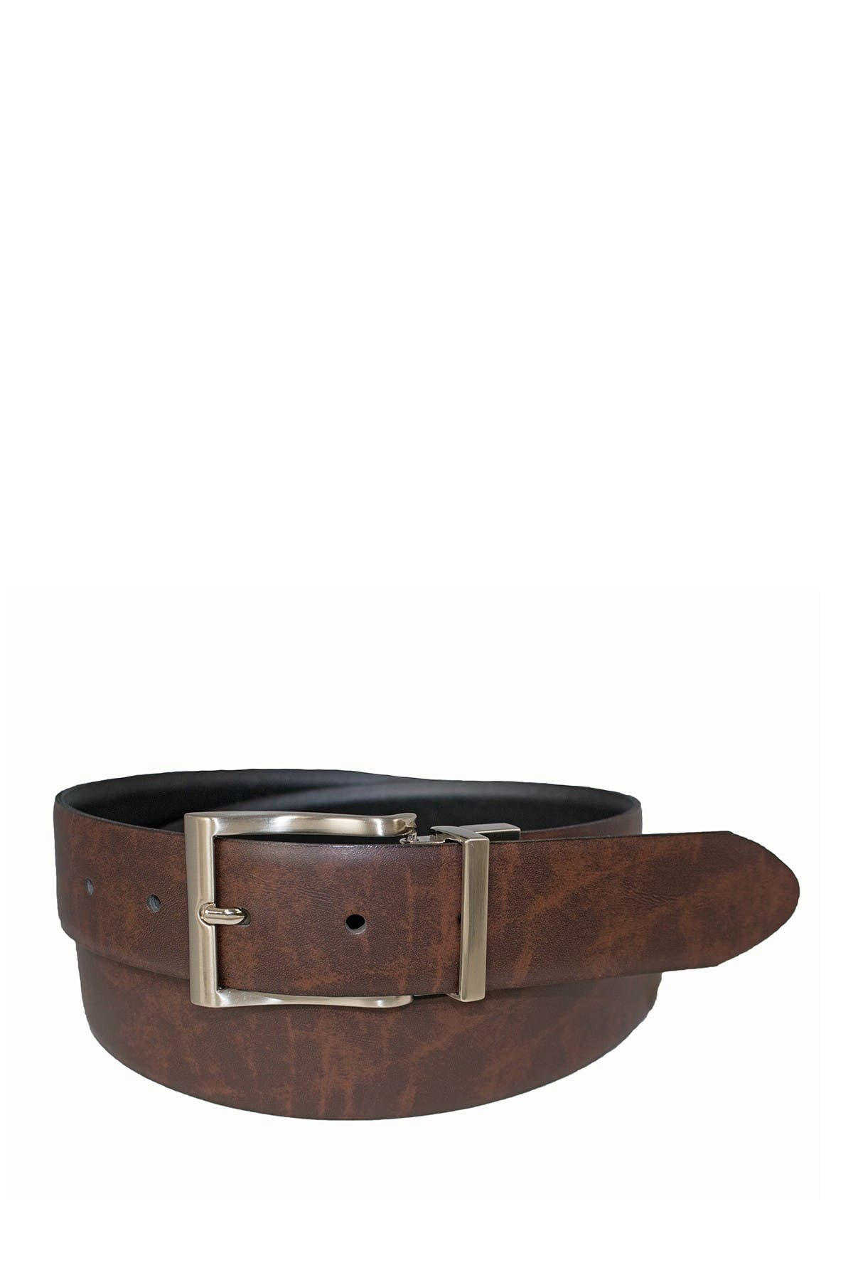 Image of BOSCA Reversible 35mm Marbled Leather Belt