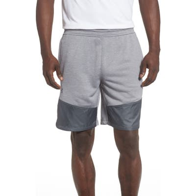 Under Armour Mk-1 Terry Shorts, Grey