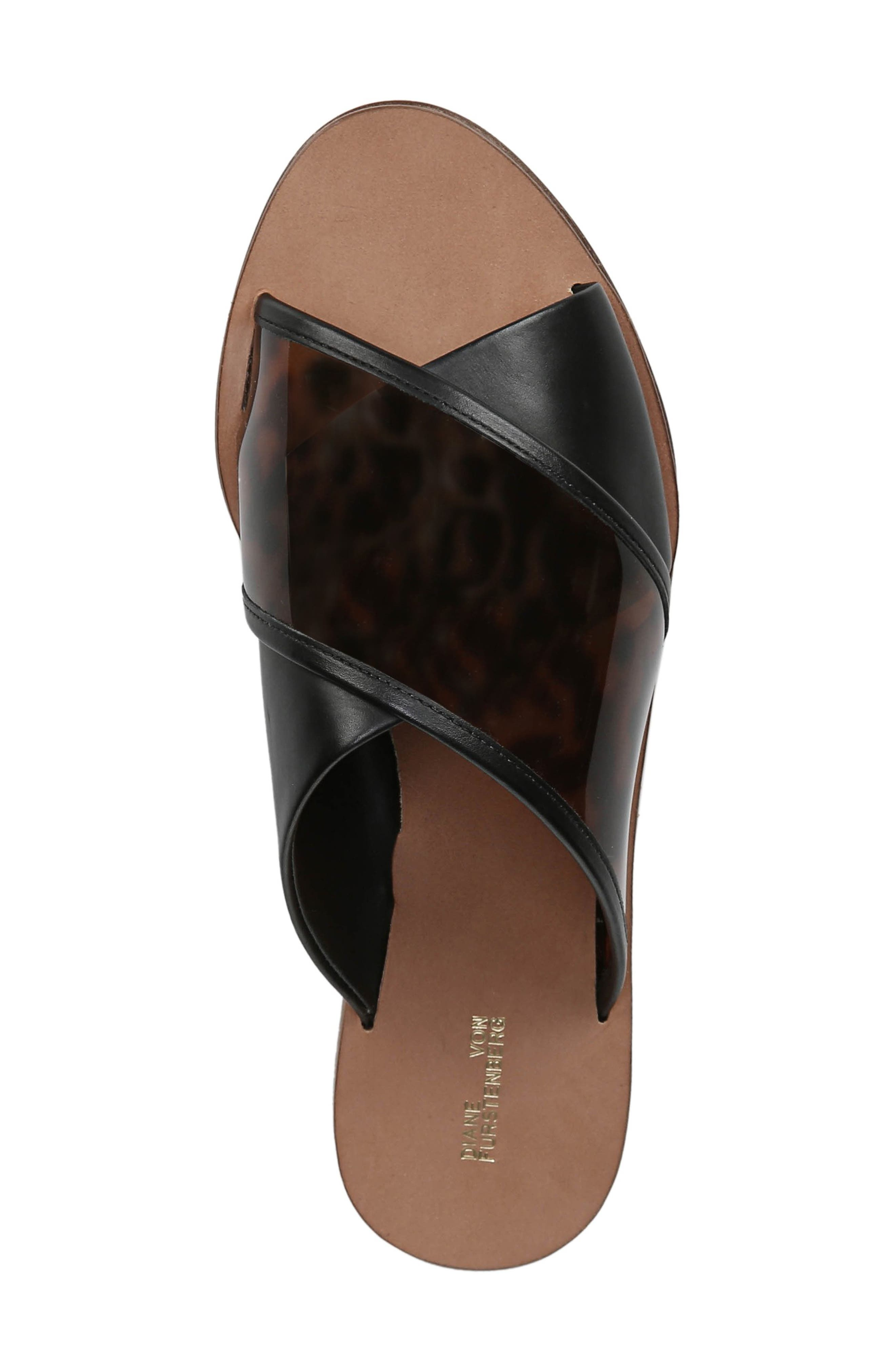 ,                             Bailie 4 Sandal,                             Alternate thumbnail 5, color,                             BLACK MULTI