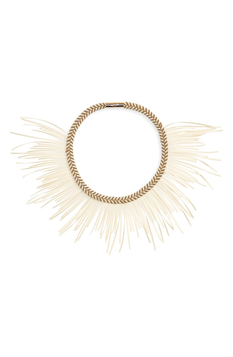 THE ACCESSORY JUNKIE Mazz Collar Necklace, Main, color, 900