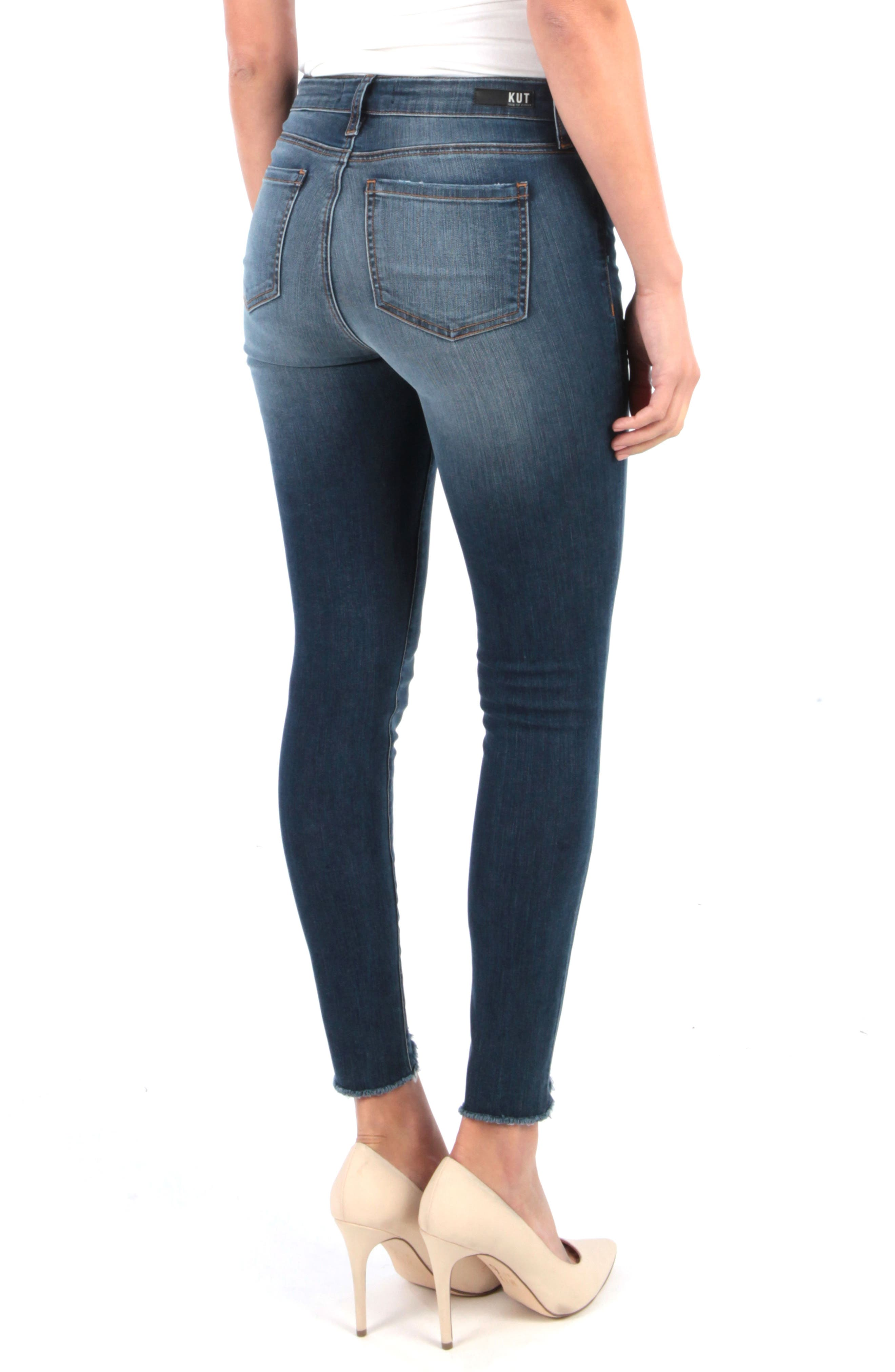 ,                             Connie Ankle Skinny Jeans,                             Alternate thumbnail 2, color,                             BEHAVE