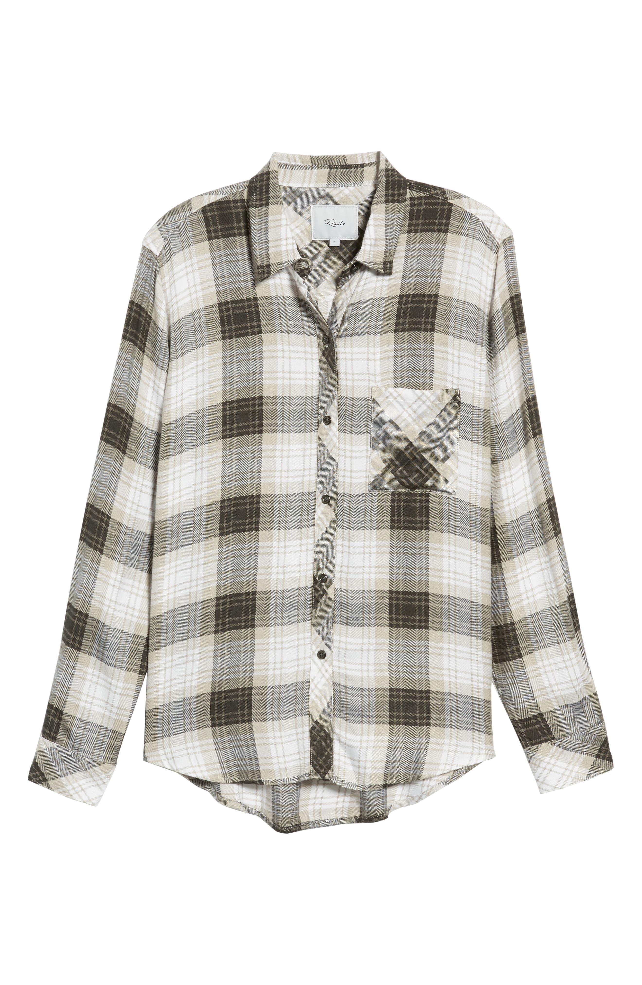 ,                             Hunter Plaid Shirt,                             Alternate thumbnail 249, color,                             074
