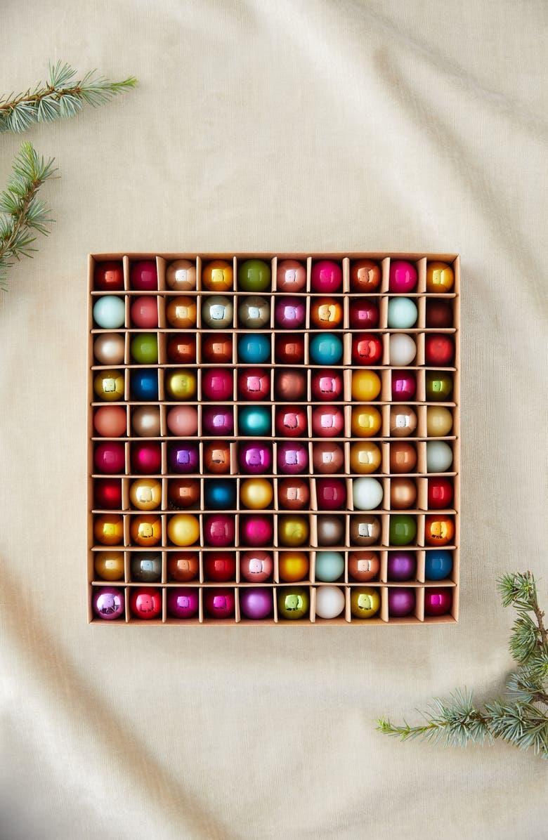 TERRAIN Set of 100 Mini Ornaments, Main, color, MULTI